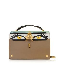 GIANCARLO PETRIGLIA | Peggy Eyes Leather Bag