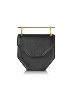 M2Malletier | Amor Fati Leather Shouder Bag W/Double Metal Handles