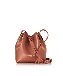 LANCASTER PARIS | Pur Smooth Leather Mini Bucket Bag
