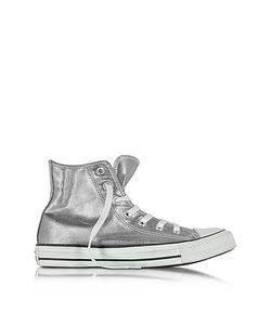 Converse Limited Edition | All Star Высокие Хромовые Женские Кеды Из Ткани