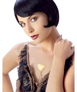 Newd | Marylin Logo Heart W/ Crystal Drops