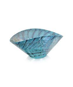Yalos Murano | Belus Бирюзовая Декоративная Тарелка Из Стекла Мурано