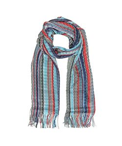 Missoni | Viscose And Cotton Striped Long Scarf