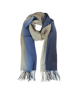 Mila Schon | Gradient Wool And Cashmere Stole