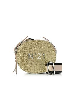 N°21 | And Glitter Oval Crossbody Bag W Embossed Logo