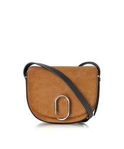 3.1 Phillip Lim | Alix Maple Suede And Leather Saddle Crossbody