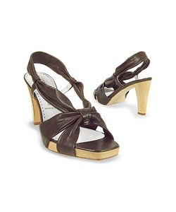 Alberto Gozzi | Leather Straps Platform Sandal Shoes