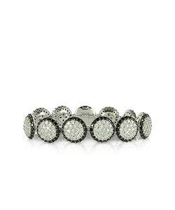 Azhar | Two Tone Cubic Zirconia Sterling Bracelet