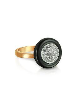 Azhar | White Cubic Zirconia Silver Vermeil Ring
