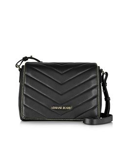 ARMANI JEANS | Faux Leather Crossbody