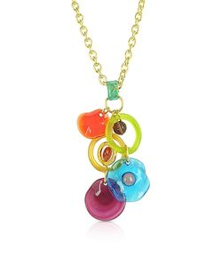 Antica Murrina | Shiva Murano Glass Charm Necklace