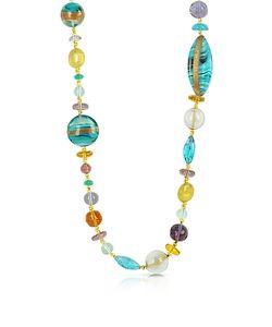 Antica Murrina   Niagara Long Murano Glass Necklace