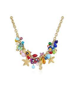 Antica Murrina   Marilena Murano Glass Marine Plated Necklace