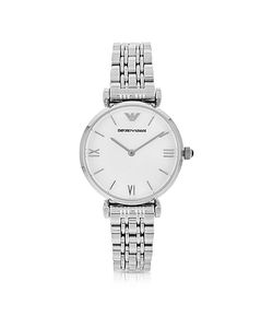 Emporio Armani | Retro Stainless Steel Womens Watch