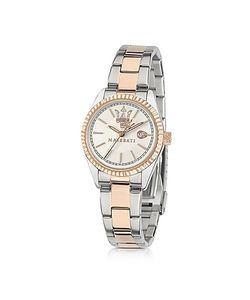 Maserati | Competizione And Rose Golden Stainless Steel Womens Watch