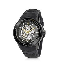 Maserati | Corsa Stainless Steel Automatic Skeleton Mens Watch