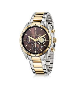 Maserati | Sorpasso Two Tone Stainless Steel Chrono Mens Watch