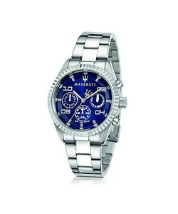 Maserati | Competizione Chronograph Multi Dial Stainless Steel Mens Watch