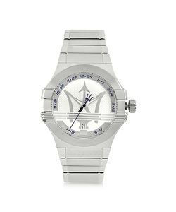 Maserati | Potenza 3h Dial Stainless Steel Watch