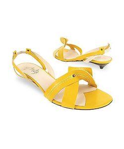 Amaltea   Cream Two-Tone Leather Sandal Shoes