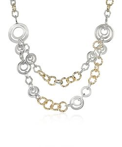 AZ Collection | Crystal Chain Opera Necklace