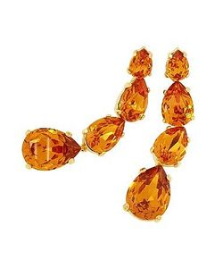 AZ Collection | Tangerine Dangle Earrings