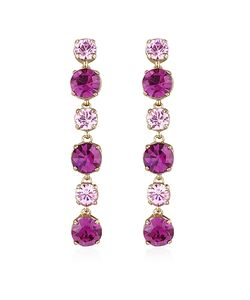 AZ Collection | Amethyst Drop Earrings