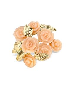 AZ Collection | Roses Gold Plated Brooch