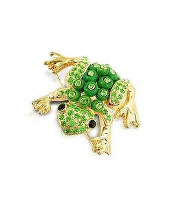 AZ Collection | Frog Brooch