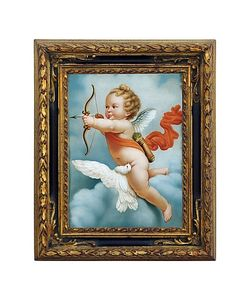 Bianchi Arte | Oil On Canvas Cherub Painting