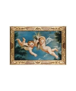 Bianchi Arte | Oil On Canvas Cherubs Painting