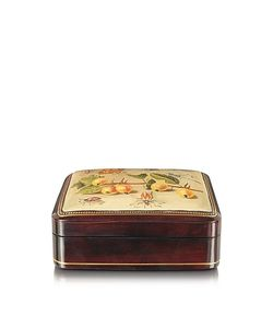 Bianchi Arte | Oil On Leather Mini Jewelry Box