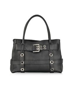 Buti | Leather Shoulder Bag W/Buckle