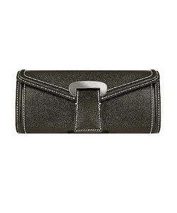 Buti | Embossed Leather Envelope Clutch