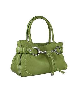 Buti | Horsebit Pebble Italian Leather Satchel Bag