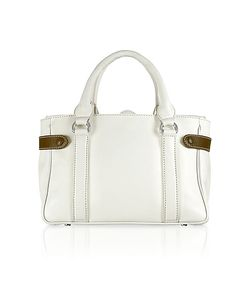 Buti | Side Snaps Calf Leather Satchel Bag