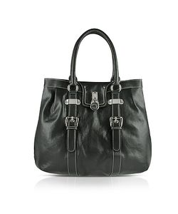 Buti | Large Grained Leather Tote Bag