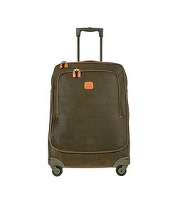 BRIC'S | Life Green Micro Suede Medium Trolley