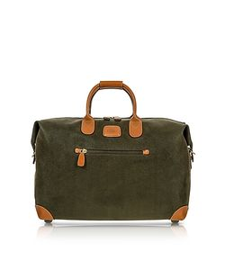 BRIC'S | Life Green Micro Suede 18 Carry-On Holdall