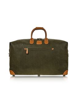 BRIC'S | Life Green Micro-Suede 22 Duffle Bag