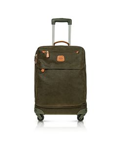 BRIC'S | Life Green Micro Suede Carry On Trolley