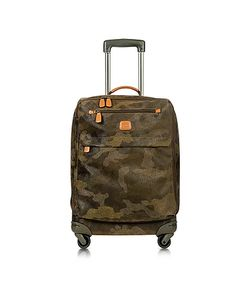 BRIC'S | Life Camouflage Military Micro Suede Carry On Trolley