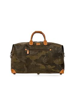 BRIC'S | Life Camouflage Military Micro Suede Carry On Holdall