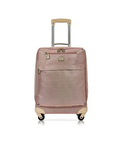 BRIC'S | Life Metallic Micro Suede Carry On Trolley