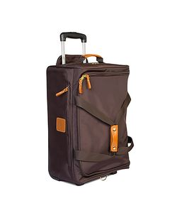 BRIC'S | X-Travel 21 Carry-On Rolling Duffel