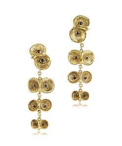 Bernard Delettrez   4 Owls Earrings