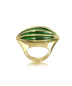Bernard Delettrez | Bronze Poison Ring W/Eye