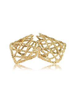 Bernard Delettrez | Articulated Basket Weave Ring