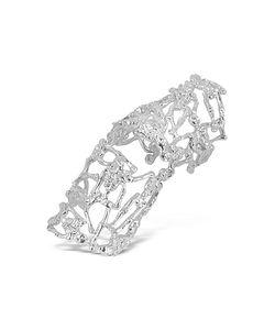 Bernard Delettrez   Skeletons Metal Articulated Ring