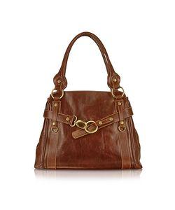 Chiarugi | Handmade Brown Genuine Leather Tote Bag